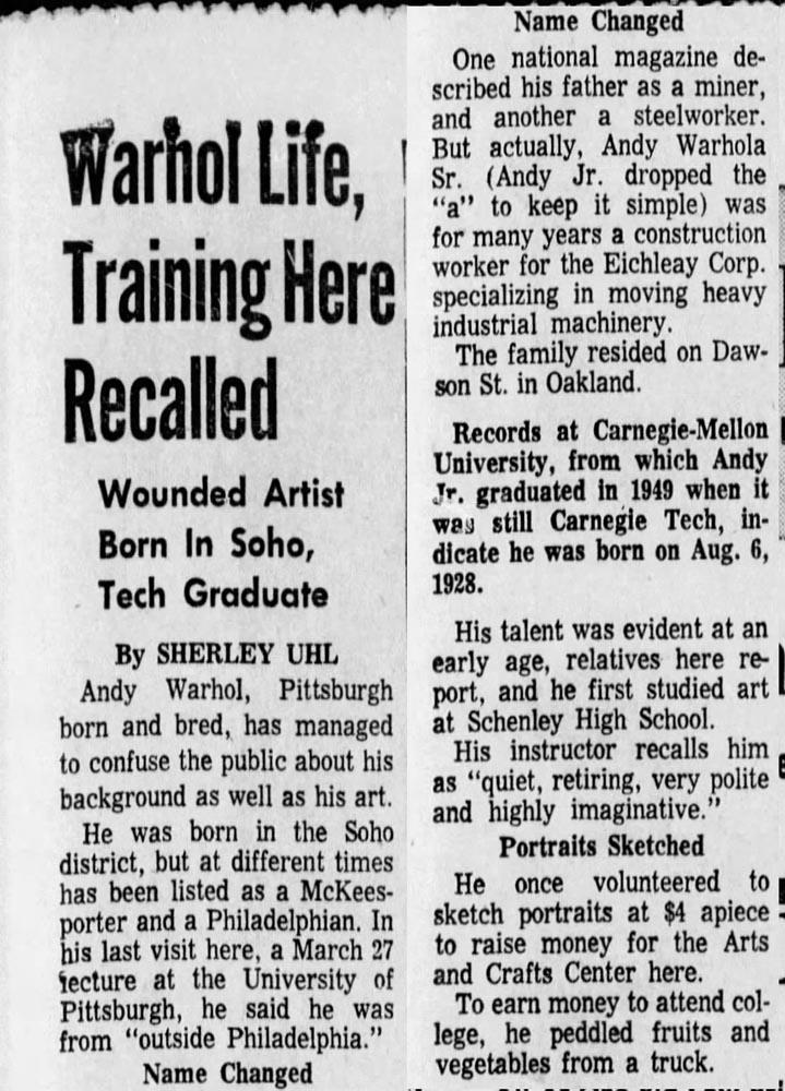 The Pittsburgh Press Tue Jun 4 1968